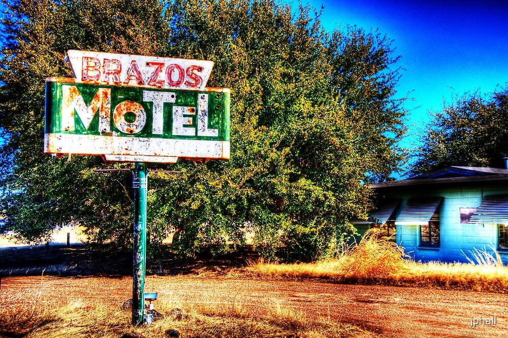 Brazos Motel - Grandbury, Texas by jphall