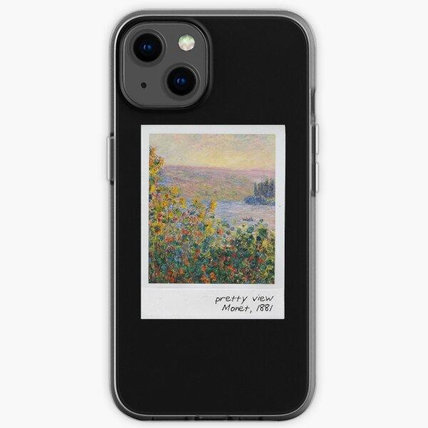 monet - pretty view iPhone Soft Case
