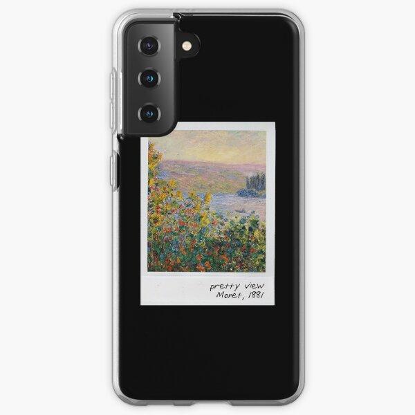 monet - pretty view Samsung Galaxy Soft Case