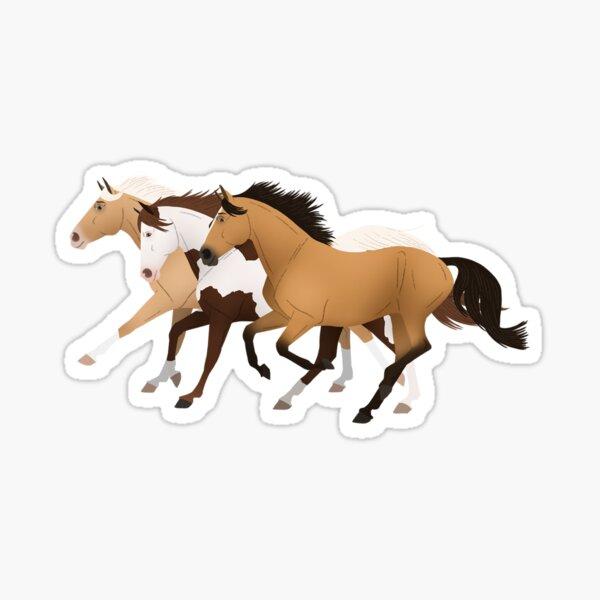 Spirit Riding Free Group - Equine Rampaige Sticker