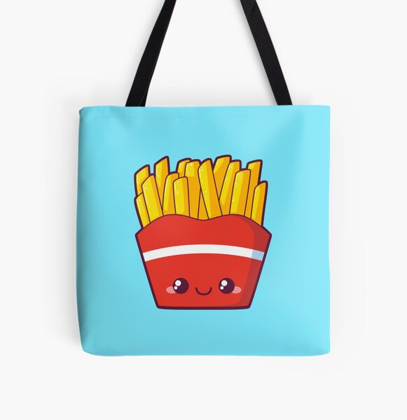 Fries All Over Print Tote Bag