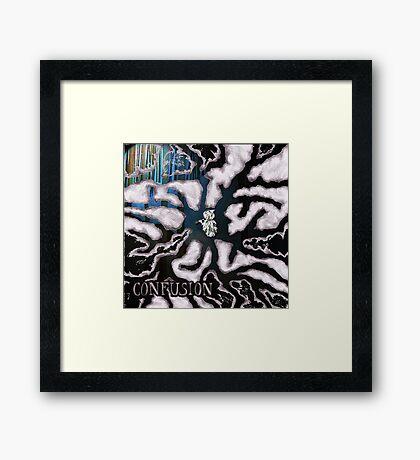 Mind Maze Framed Print