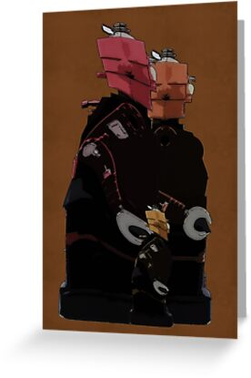 Family Unit -  Retro Digital Art by Galen Valle