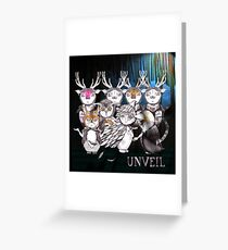 Unveil And Take A Bow Greeting Card