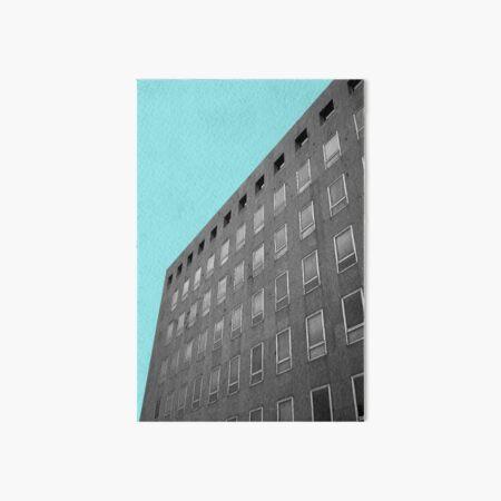 Urban Collection - light blue Art Board Print