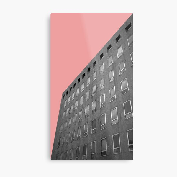 Urban Collection - red Metal Print