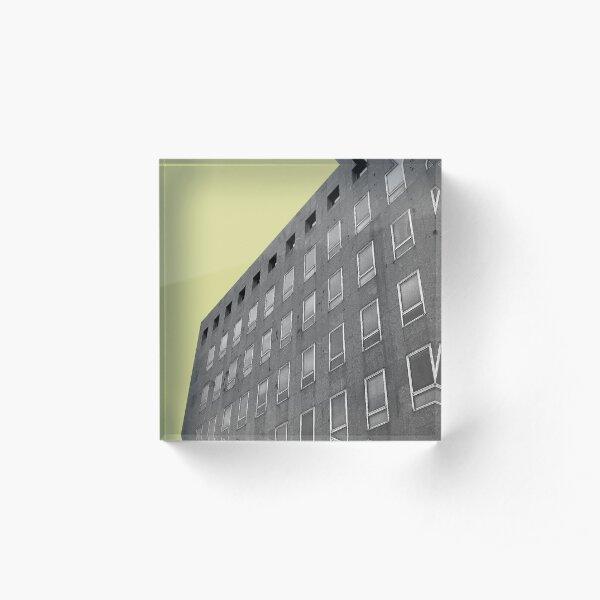 Urban Collection - yellow Acrylic Block