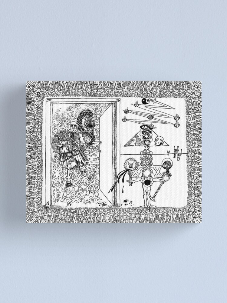 Alternate view of 2003 Iraq War Crime and Revelations Canvas Print
