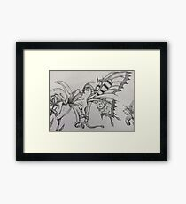 Fey Dragon Framed Print