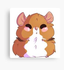Hamster Everything Canvas Print