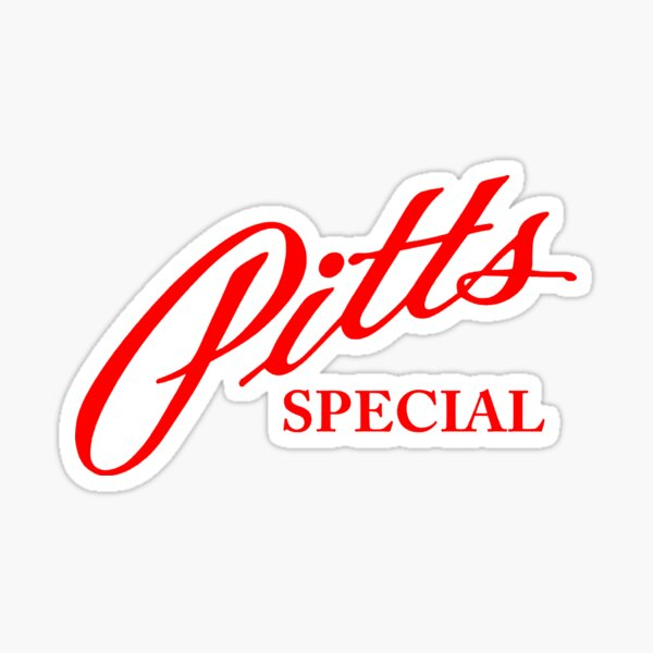 PITTS SPECIAL Sticker