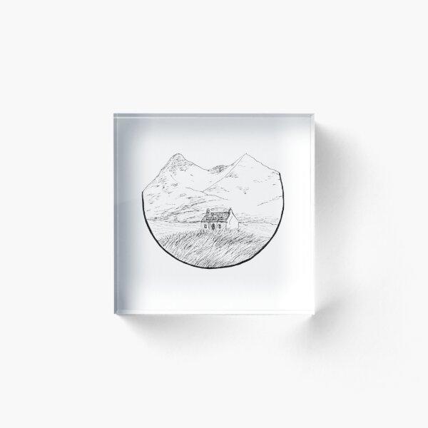 Buachaille - Etive Mor Acrylic Block