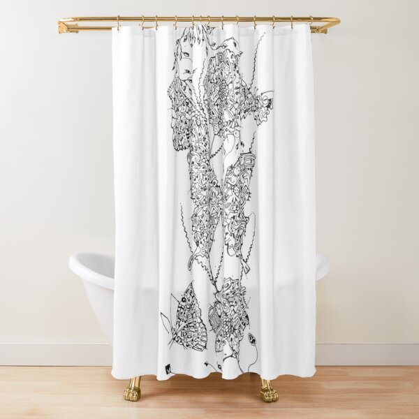 We are all Nature Shower Curtain