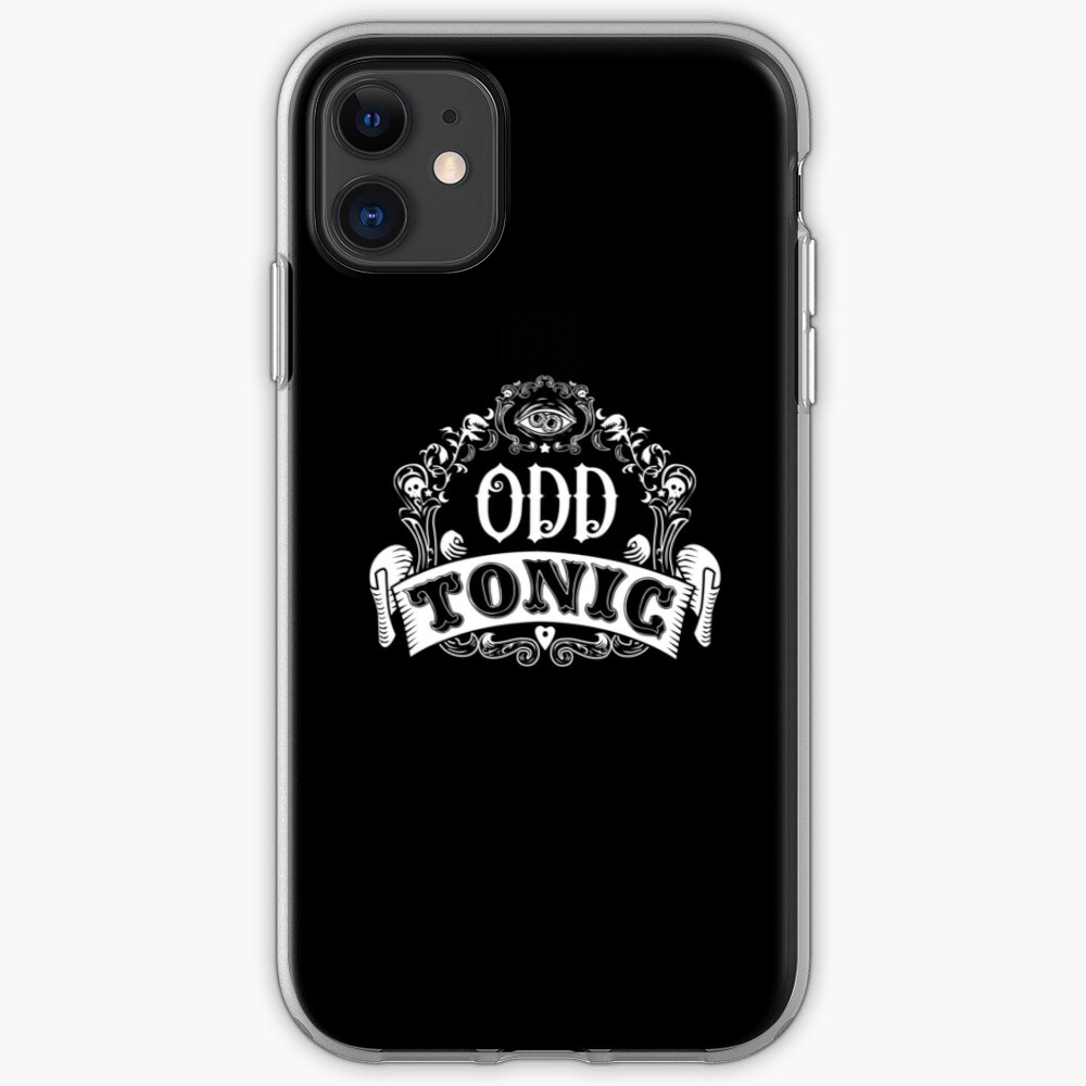 Odd Tonic Official Logo - PRINT ON BLACK iPhone Case & Cover