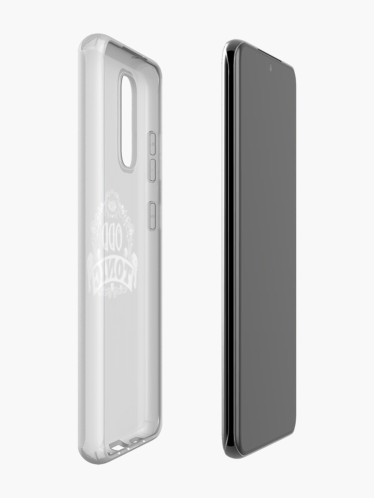 Alternate view of Odd Tonic Official Logo - PRINT ON BLACK Case & Skin for Samsung Galaxy