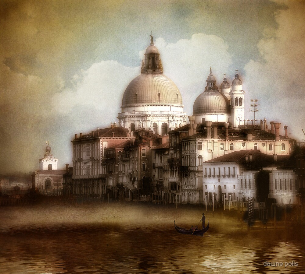 the last time I saw venice... by dawne polis