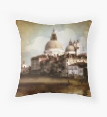 the last time I saw venice... Throw Pillow
