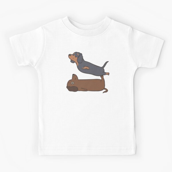 HTUAEUEHRH Cute Dachshund Playing Saxophone Baby Boys Toddler Short Sleeve T-Shirts Tees