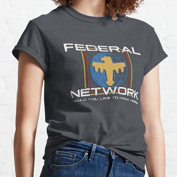 Federal Network logo inspired by Starship Troopers Classic T-Shirt