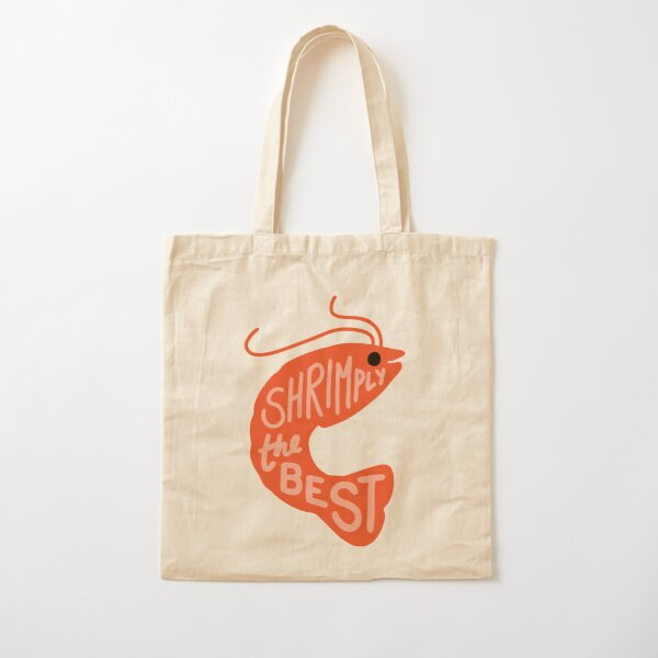 Shrimply the Best Cotton Tote Bag