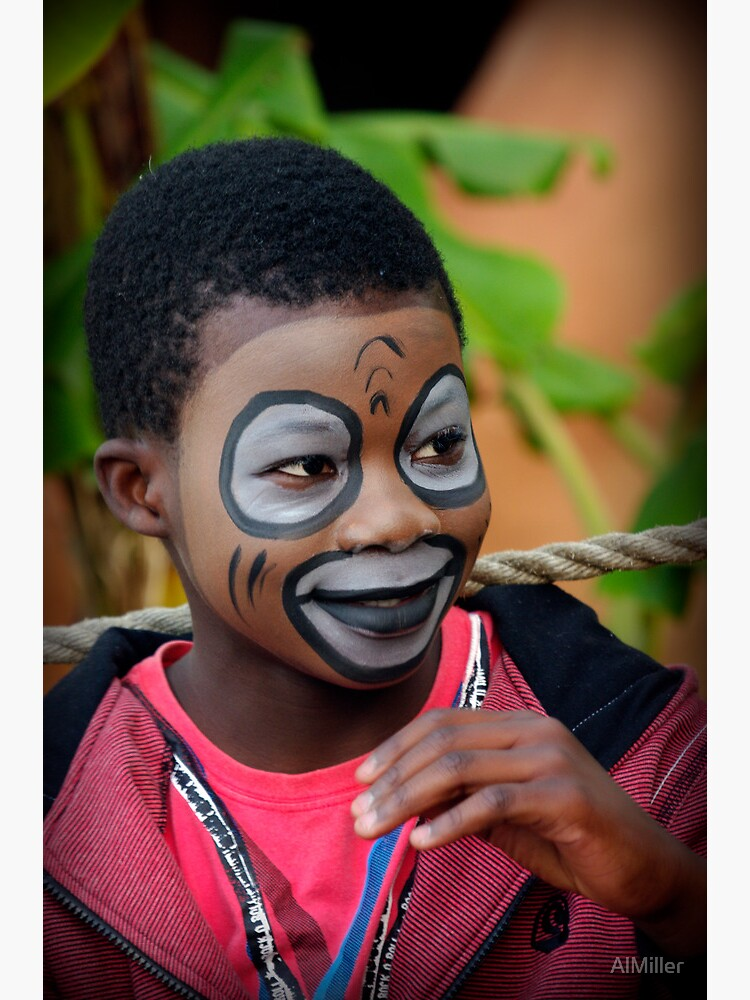 Face Painting by AlMiller