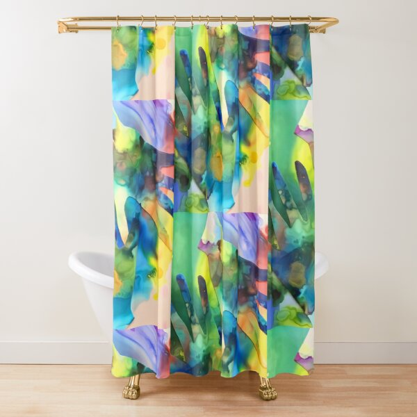 Put Your Hand In The Hand  Shower Curtain