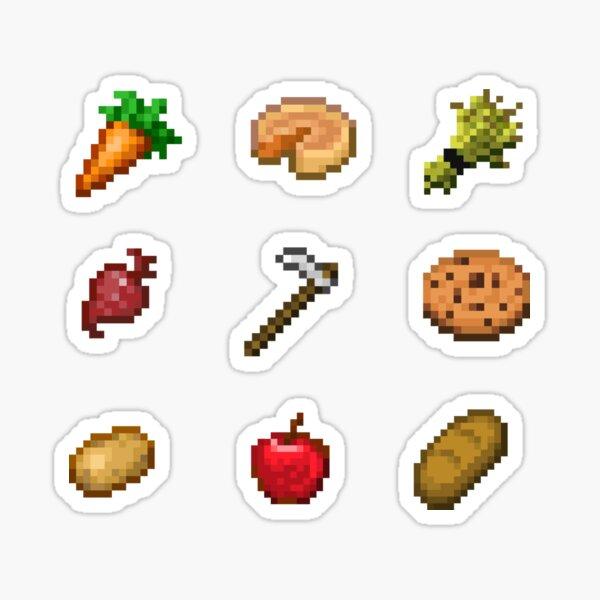 Minecraft Food Pack  Sticker
