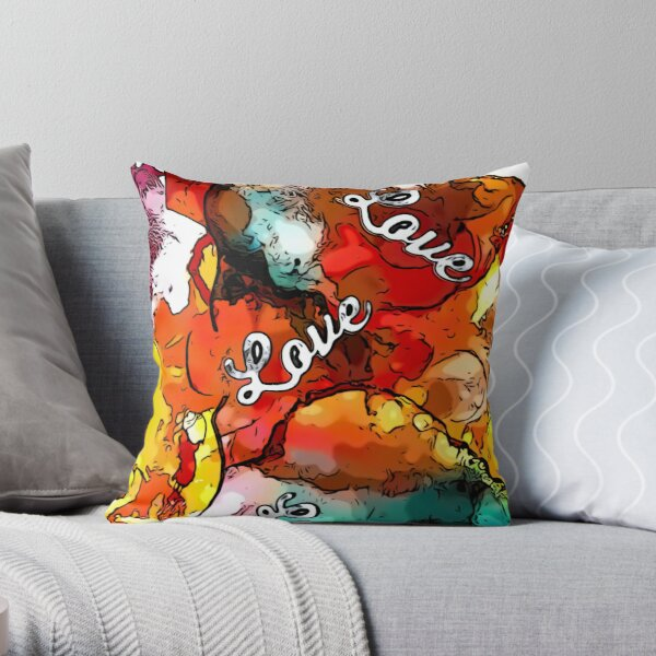 Who Doesn't Need A Little Love ? Throw Pillow