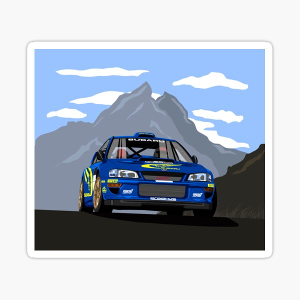 Subaru Impreza S5 WRC 22B Pegatina