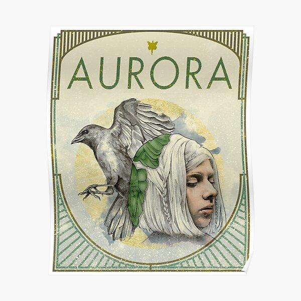 Aurora Aksnes Greenbird Poster