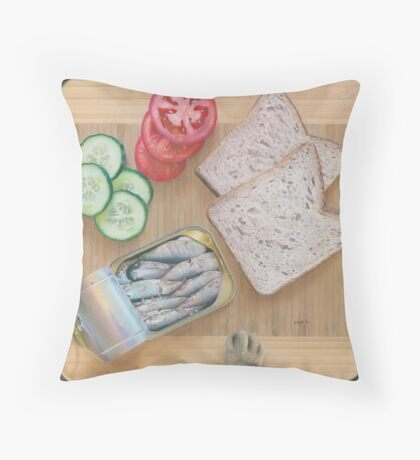 What about Me? Throw Pillow