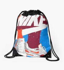 Sneakers World Drawstring Bag
