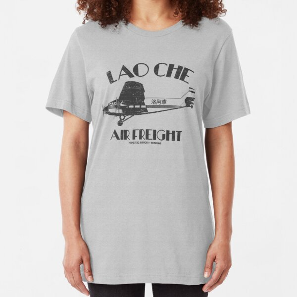 Lao Che Air Freight Slim Fit T-Shirt