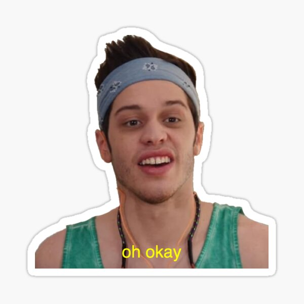 """oh okay"" - Chad Sticker"