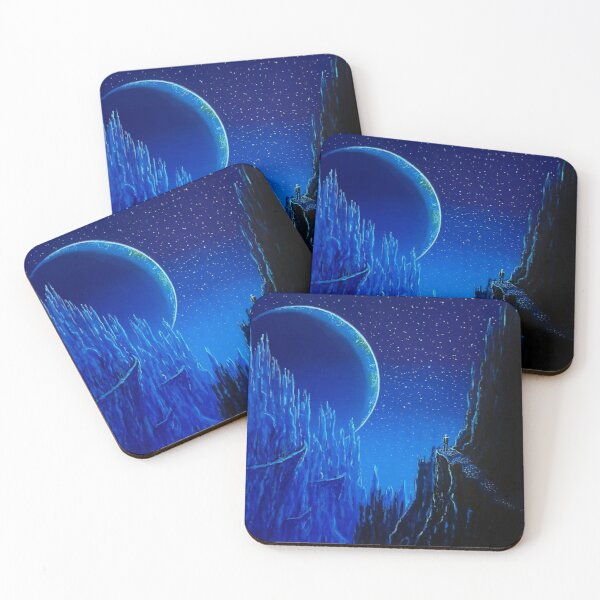 The Day Earth Passed Me By Coasters (Set of 4)