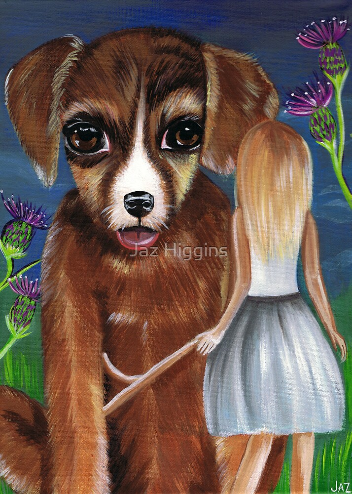 """Alice and The Puppy""  by Jaz Higgins"