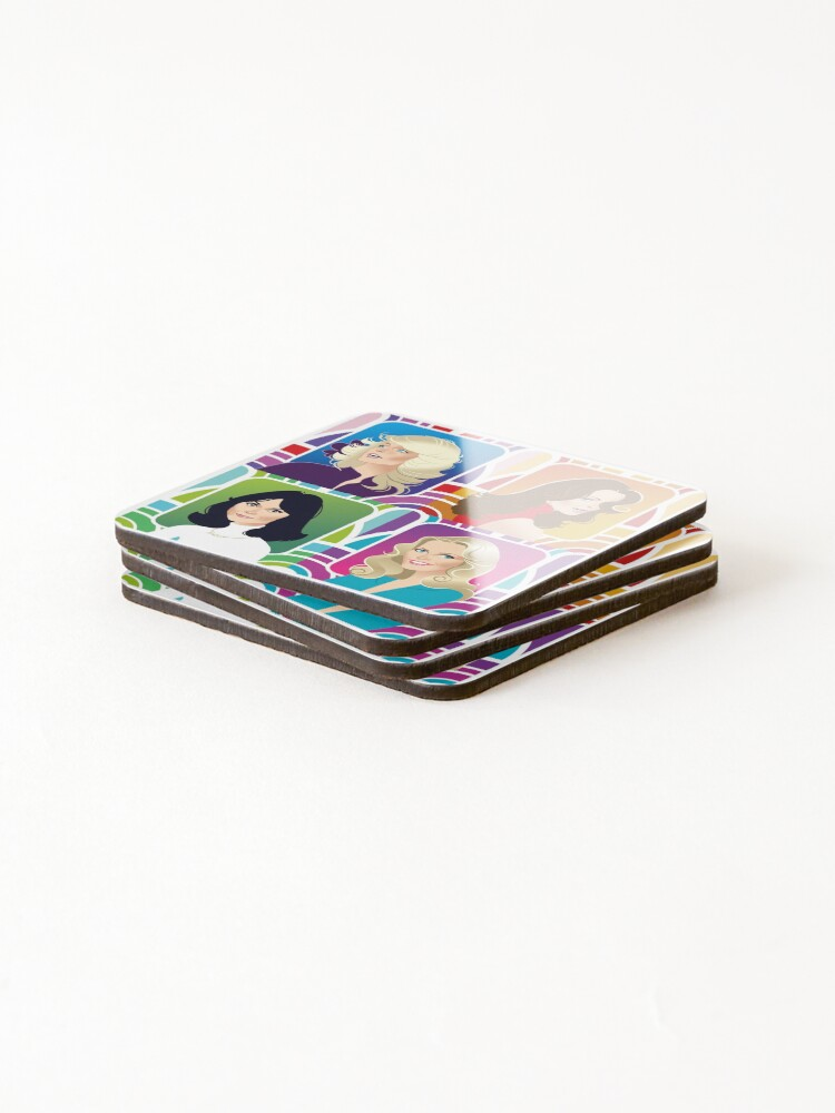 Alternate view of Four Angels Coasters (Set of 4)