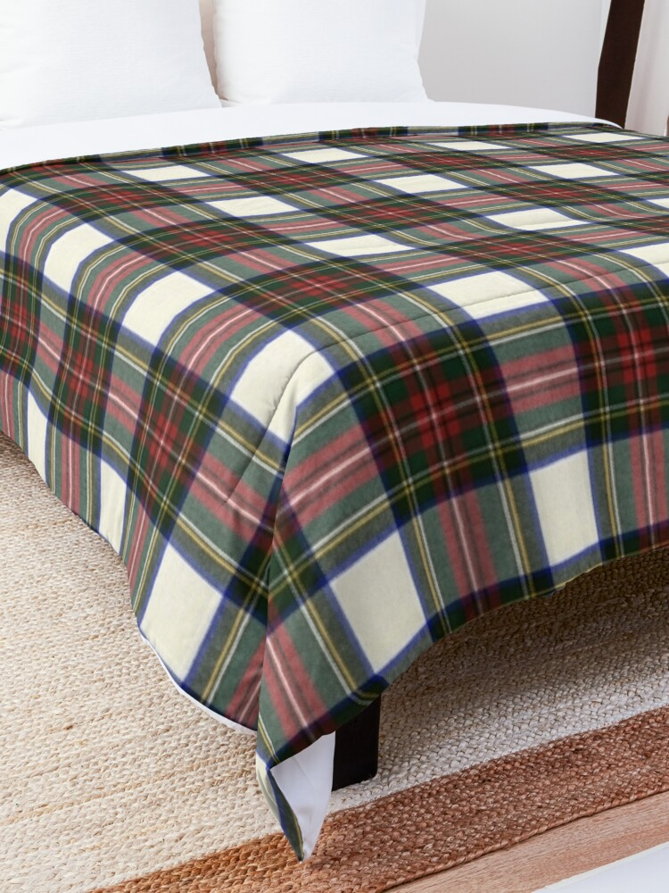 Alternate view of Stewart Dress M Original Scottish Tartan  Comforter