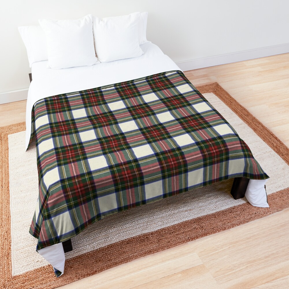 Stewart Dress M Original Scottish Tartan  Comforter