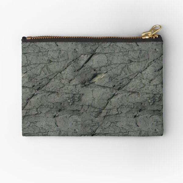 Grey Rock Zipper Pouch