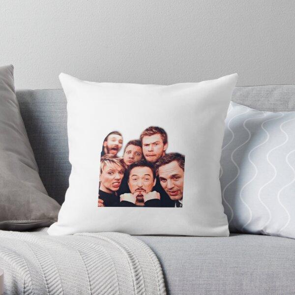 MCU MARVEL CAST Throw Pillow