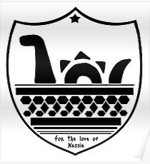 Nessie's Coat of Arms Poster