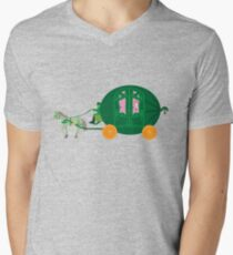 Watermelon Ball Mens V-Neck T-Shirt