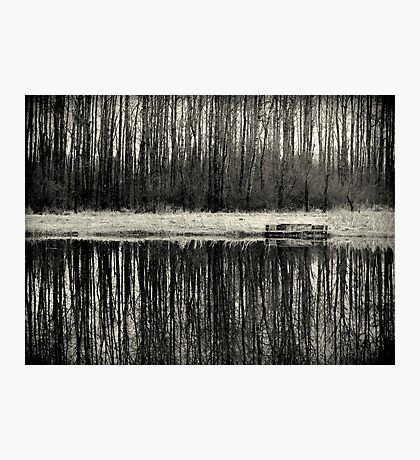 Isolation in BW Photographic Print