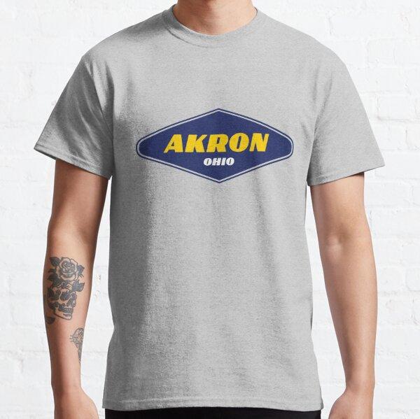 Akron Ohio - Ville du caoutchouc T-shirt classique