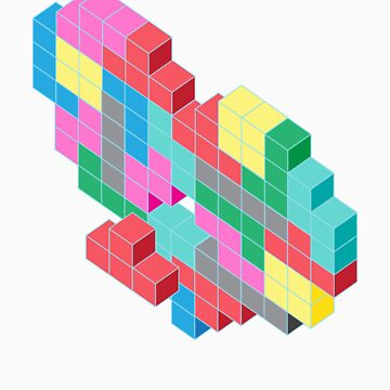 Tetris Heart by hendoNZ