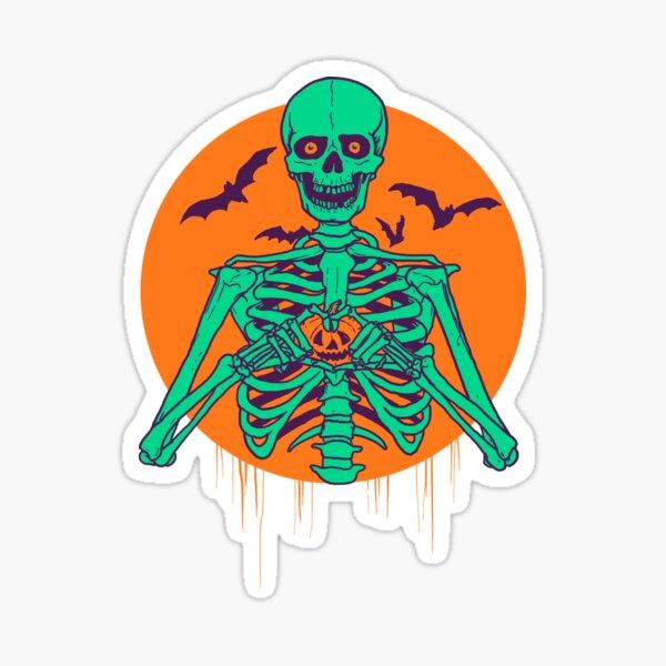 I Love Halloween Sticker