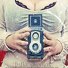 Self with Graflex by Julia  Thomas