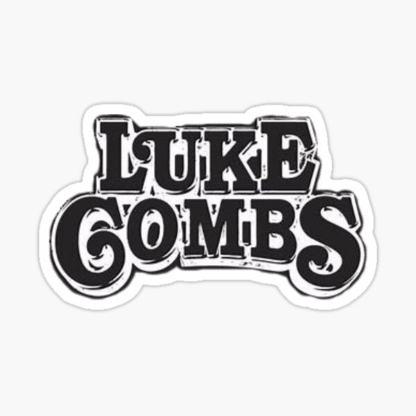 Luke Combs  Sticker
