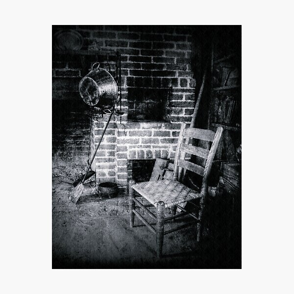 In the Shadows of the Past Photographic Print
